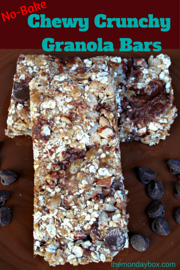 Chewy Crunchy Granola Bars