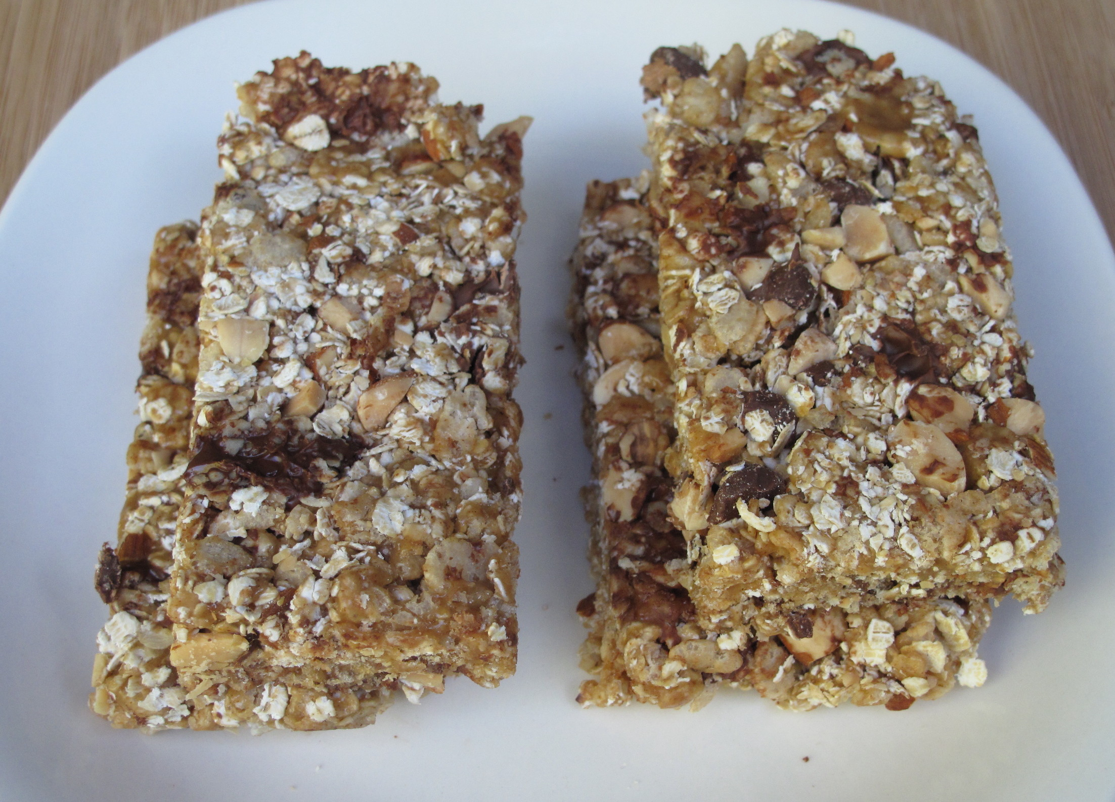 Chewy Crunchy Granola Bars- easy no-bake recipe with oats, peanut ...