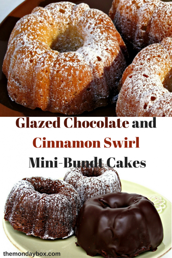 glazed-chocolate-and-cinnamon-swirl-mini-bundt-cakes