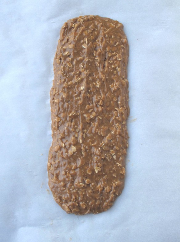 Cinnamon Maple Oat Biscotti- a bowl of cinnamon maple oatmeal disguised as a crunchy cookie.   The Monday Box