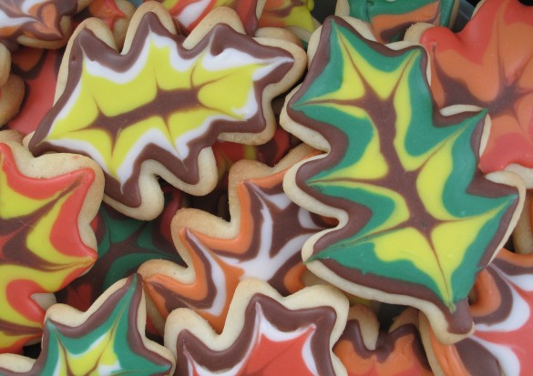Decorated Thanksgiving Sugar Cookies | The Monday Box