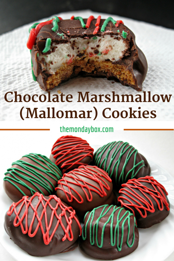Chocolate Marshmallow (Mallomar) Cookies