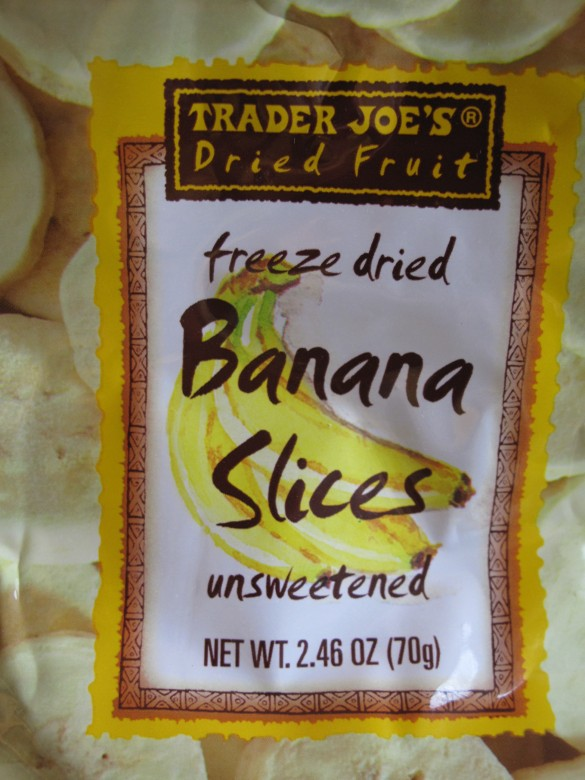 freeze dried bananas