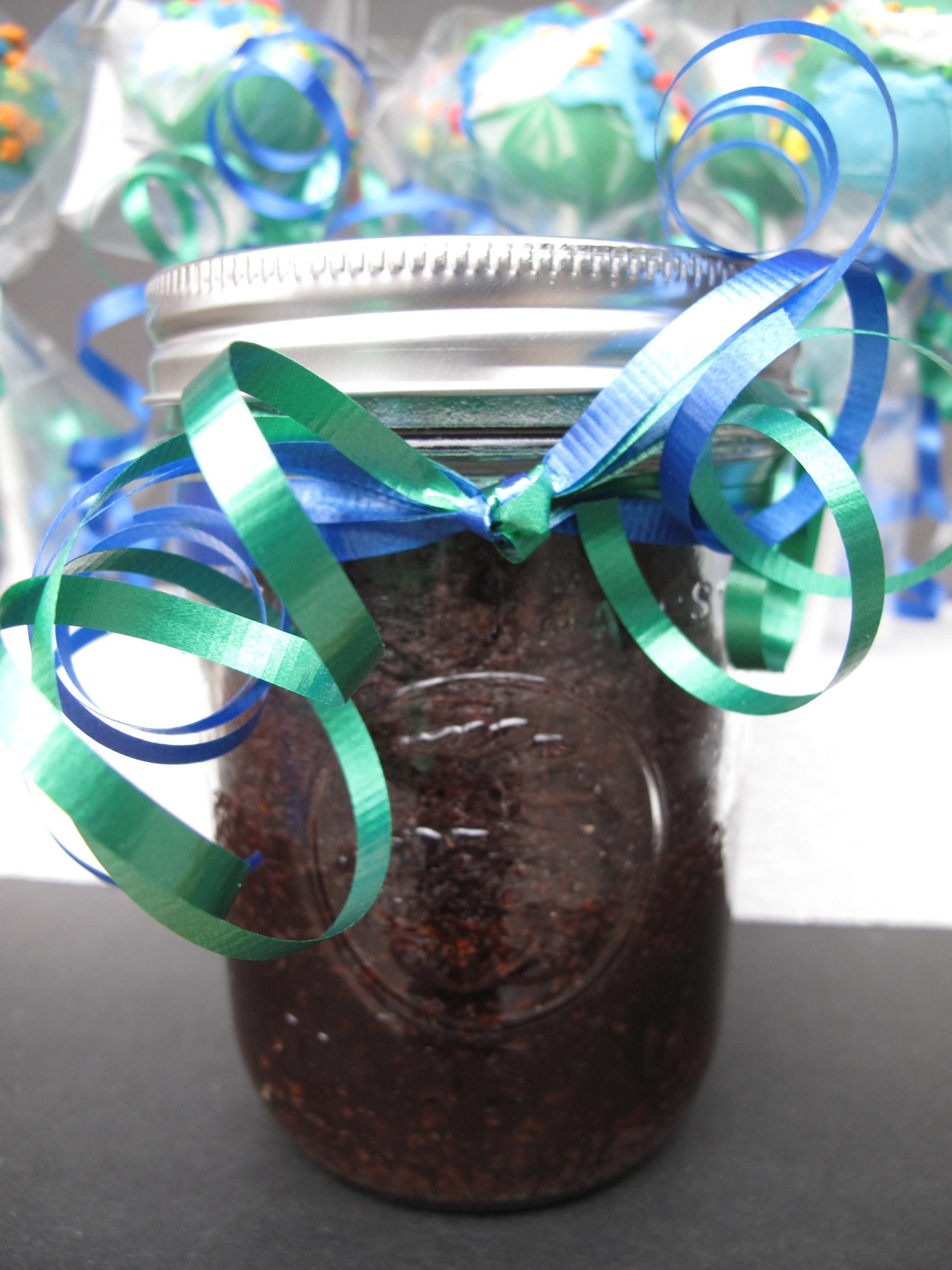 Chocolate Fudge Cake-in-a-Jar