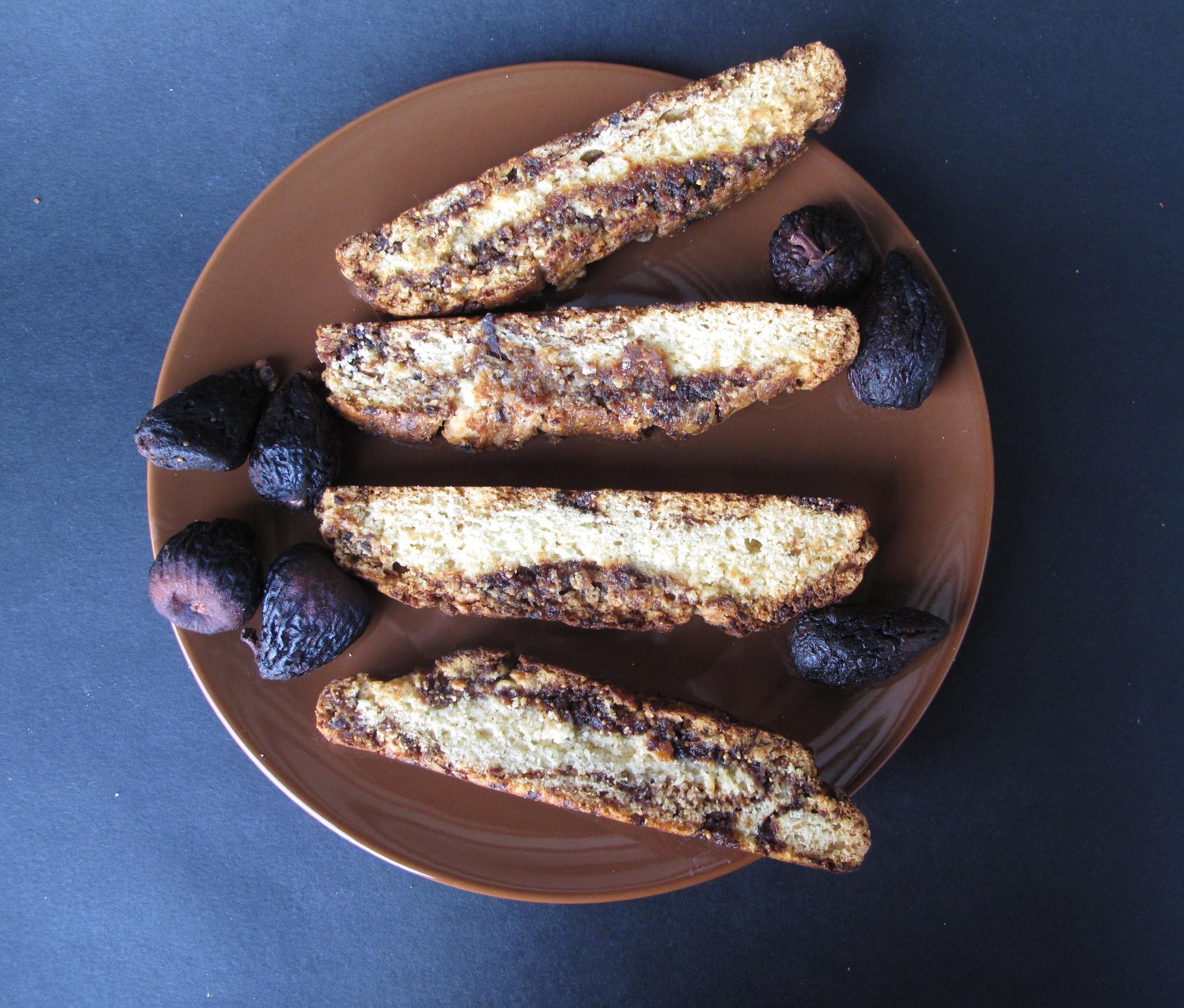 Fig Jam Biscotti