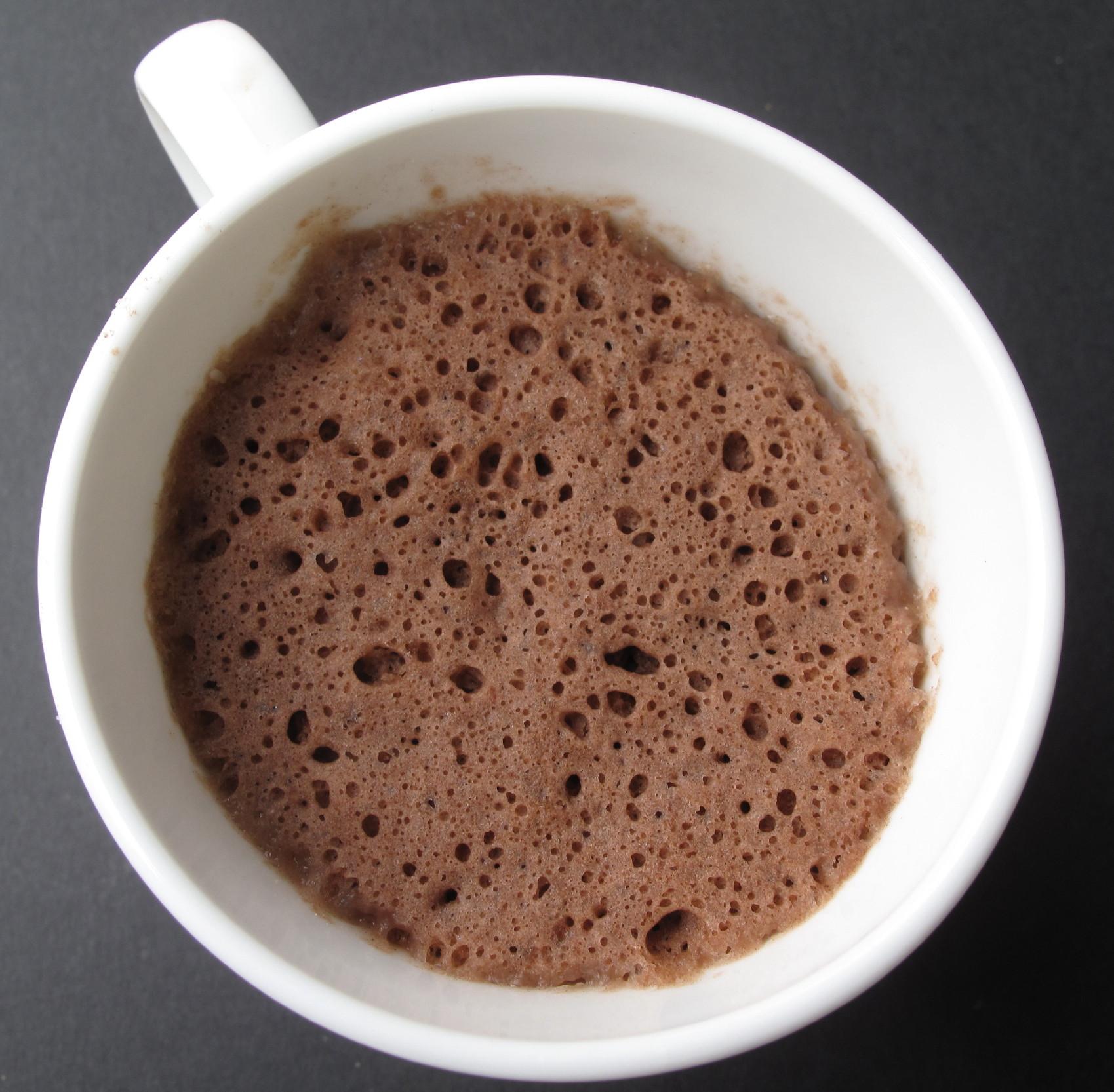 Easy Mug Recipes: 3-2-1 Magic Mug Cake