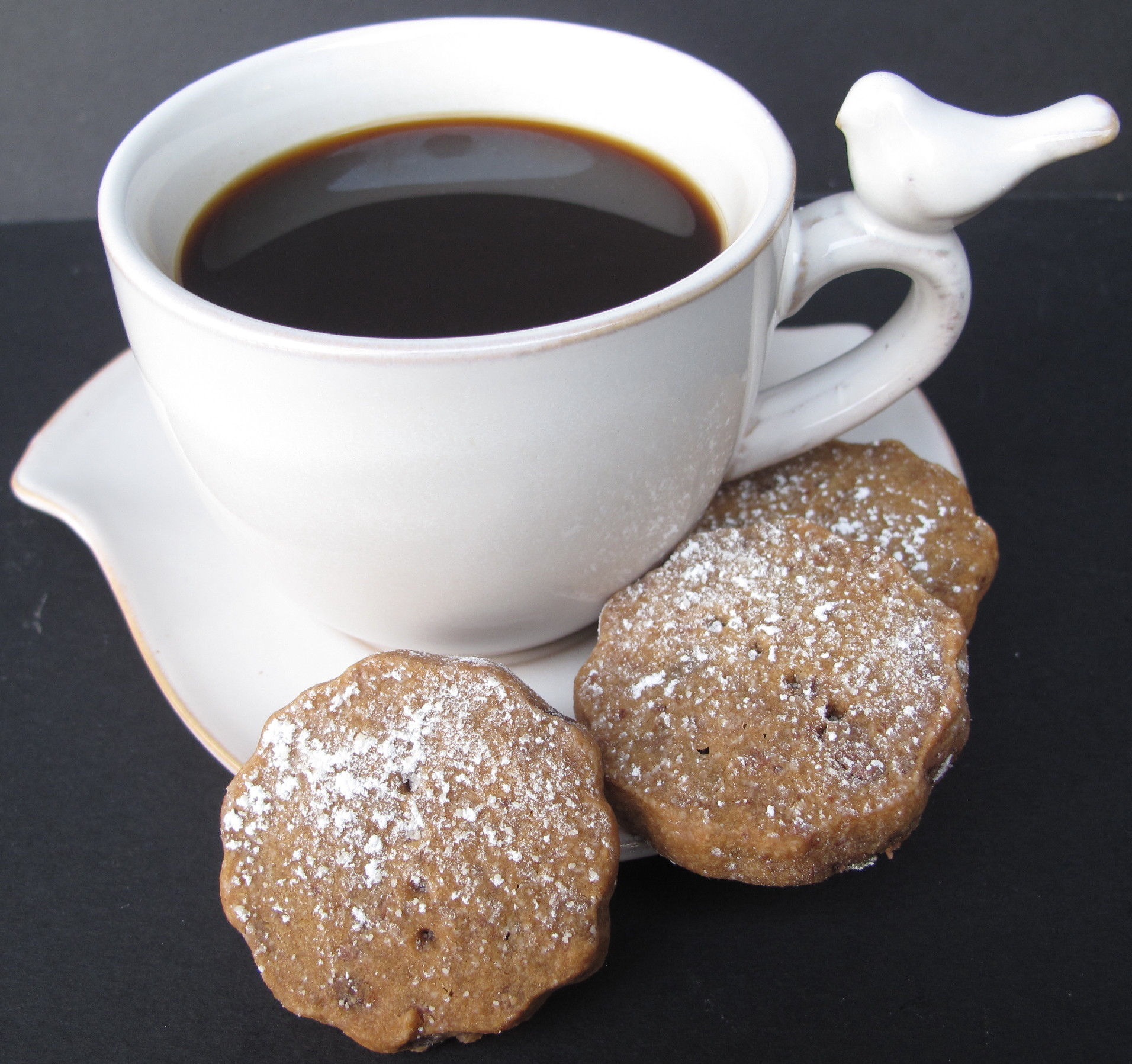 Espresso Chocolate Shortbread Cookies- melt-in-your-mouth buttery ...
