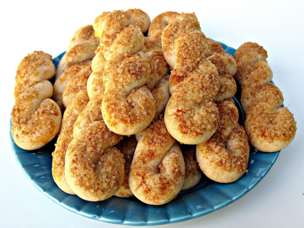 Cinnamon-Sugar Twist Cookies