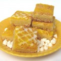 Chewy White Chocolate Lemon Bars