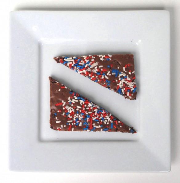 Patriotic Cookie and Brownie Crunch