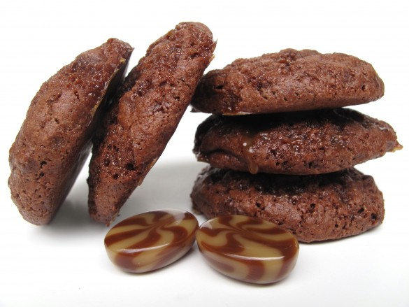 Caramel Mocha Moon Cookies™