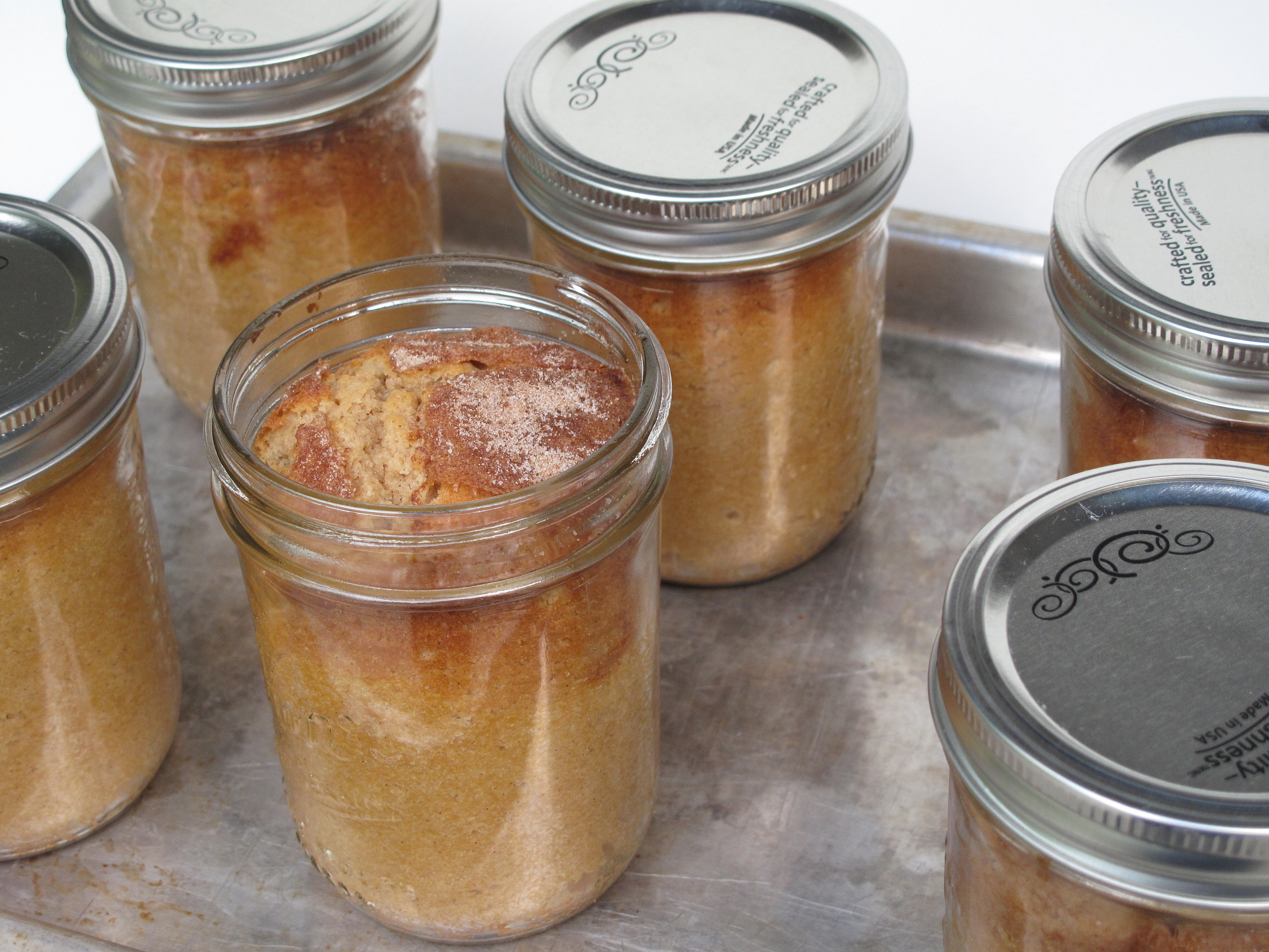 Cake In A Jar Recipe No Bake: Snickerdoodle Cake-in-a-Jar