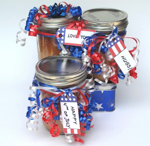 Snickerdoodle Cake-in-a-Jar