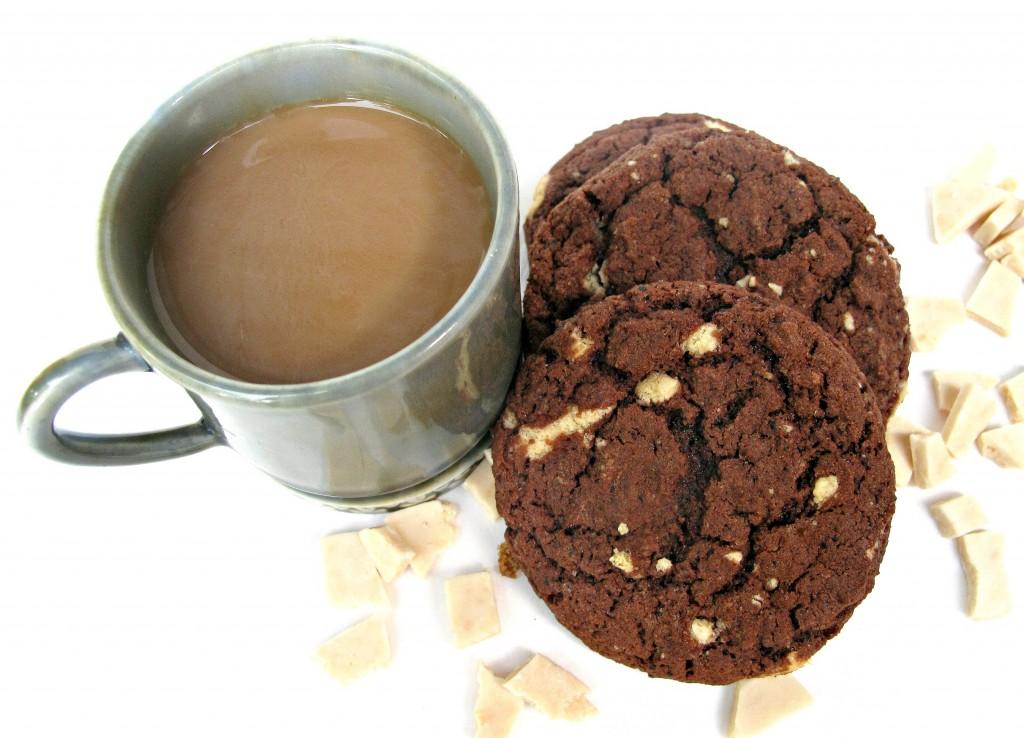Cappuccino Fudge Cookies