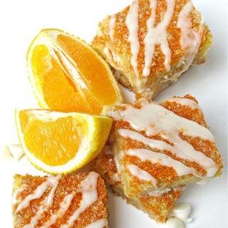 Orange Creamsicle Bars