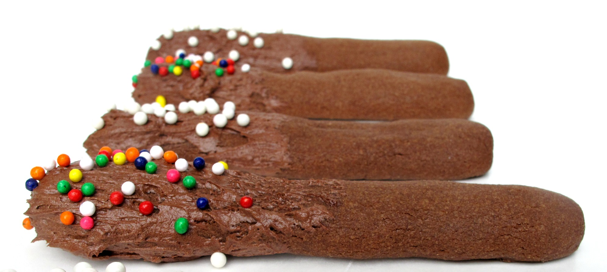 Chocolate Cookie Frosting Dippers
