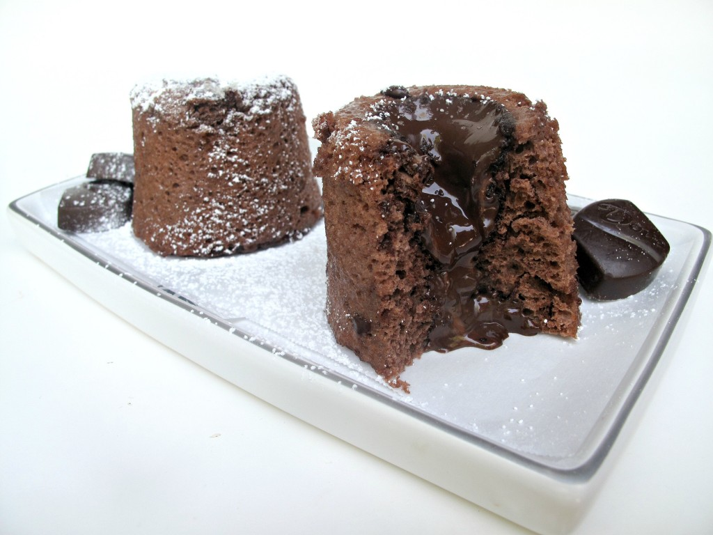 3-2-1 Molten Lava Mug Cake