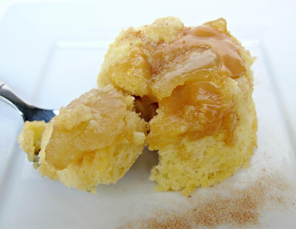 3-2-1 Caramel Apple Cake