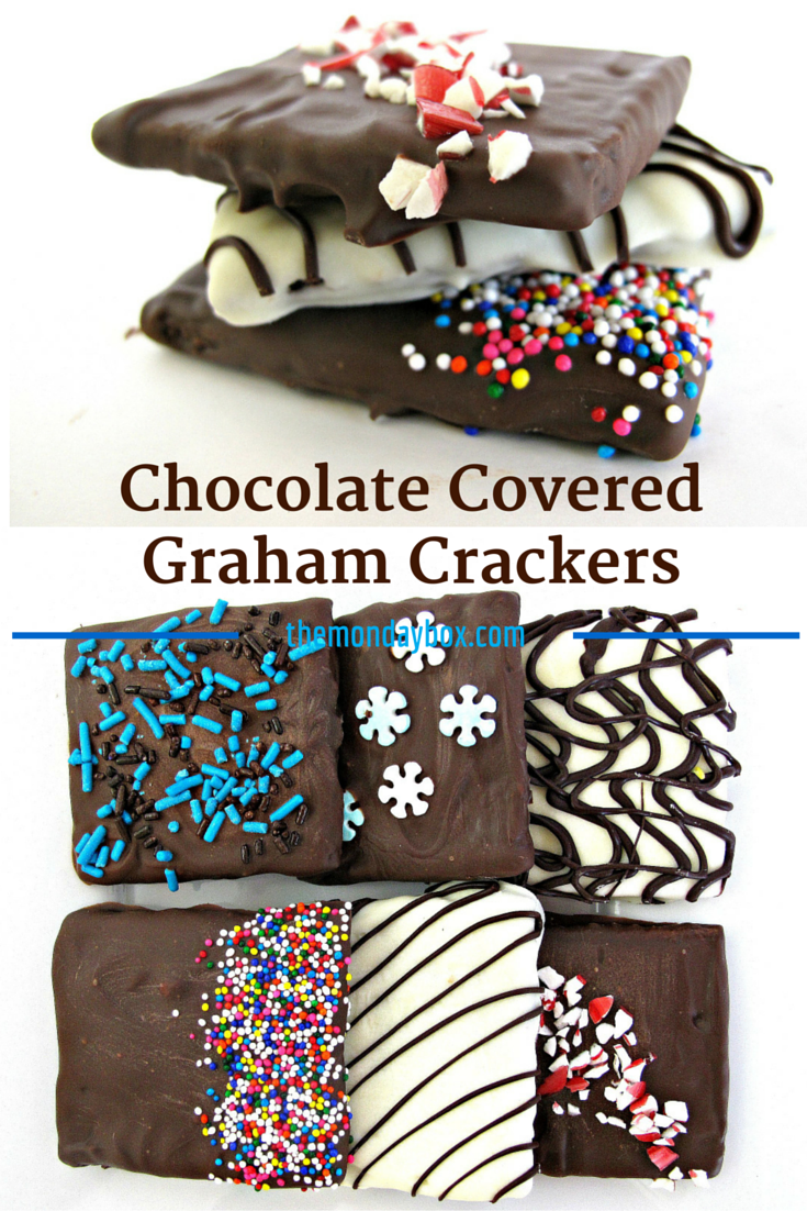 Chocolate Covered Graham Crackers- Easily make your own chocolate ...