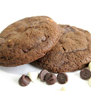 Double Chocolate-Mocha Cookies
