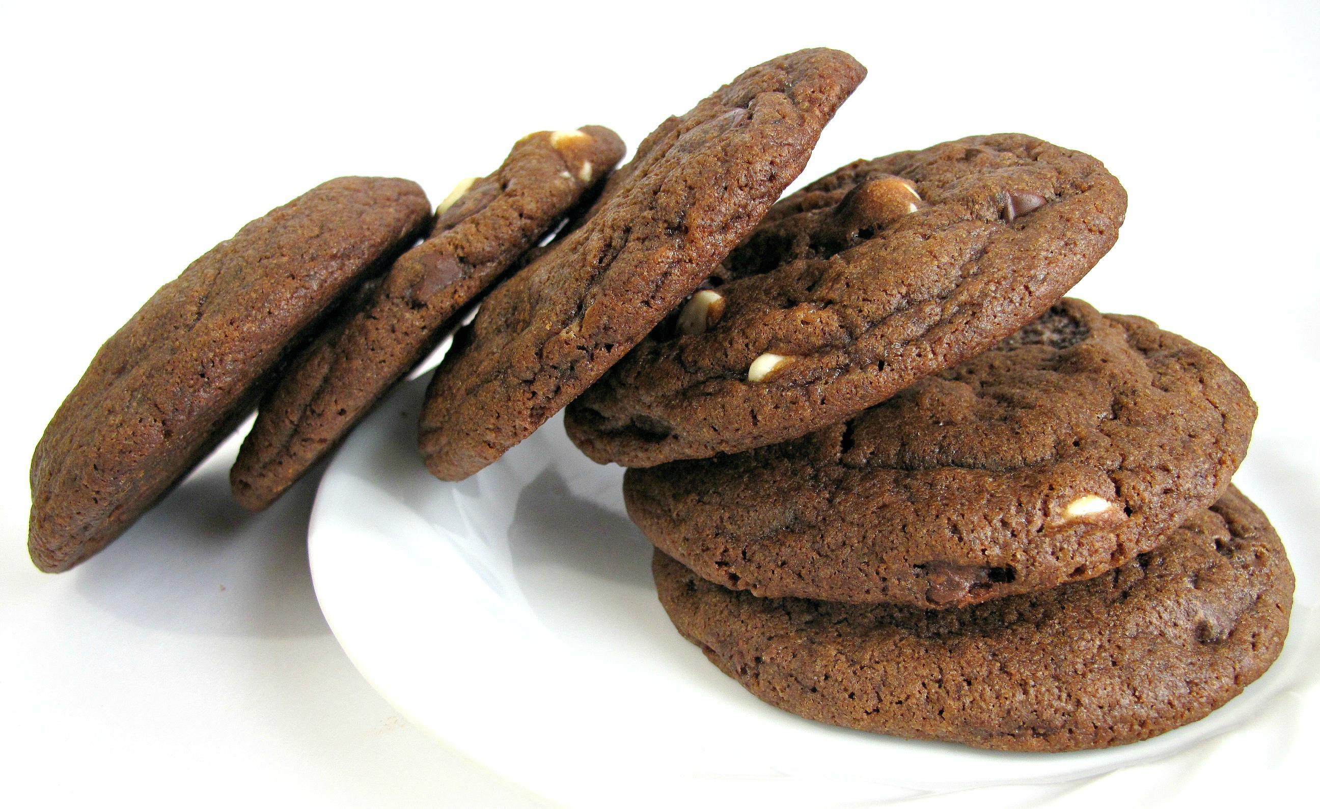 Double Chocolate-Mocha Cookies