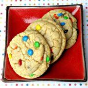M&M Mega Cookie