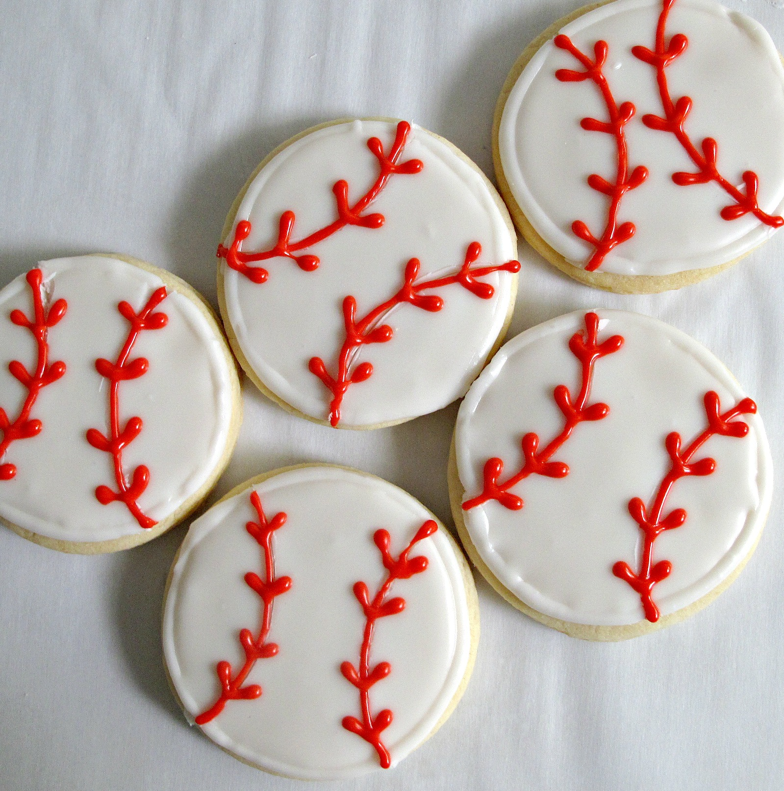 baseball sugar cookies military care package #3