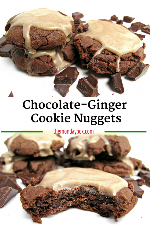 Chocolate-Ginger Cookie Nuggets