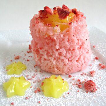 3-2-1 Strawberry Lemonade Cake