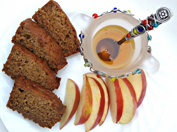 Honey Applesauce Cake