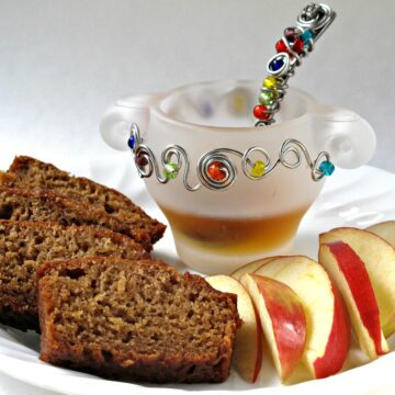 Honey Applesauce Cake