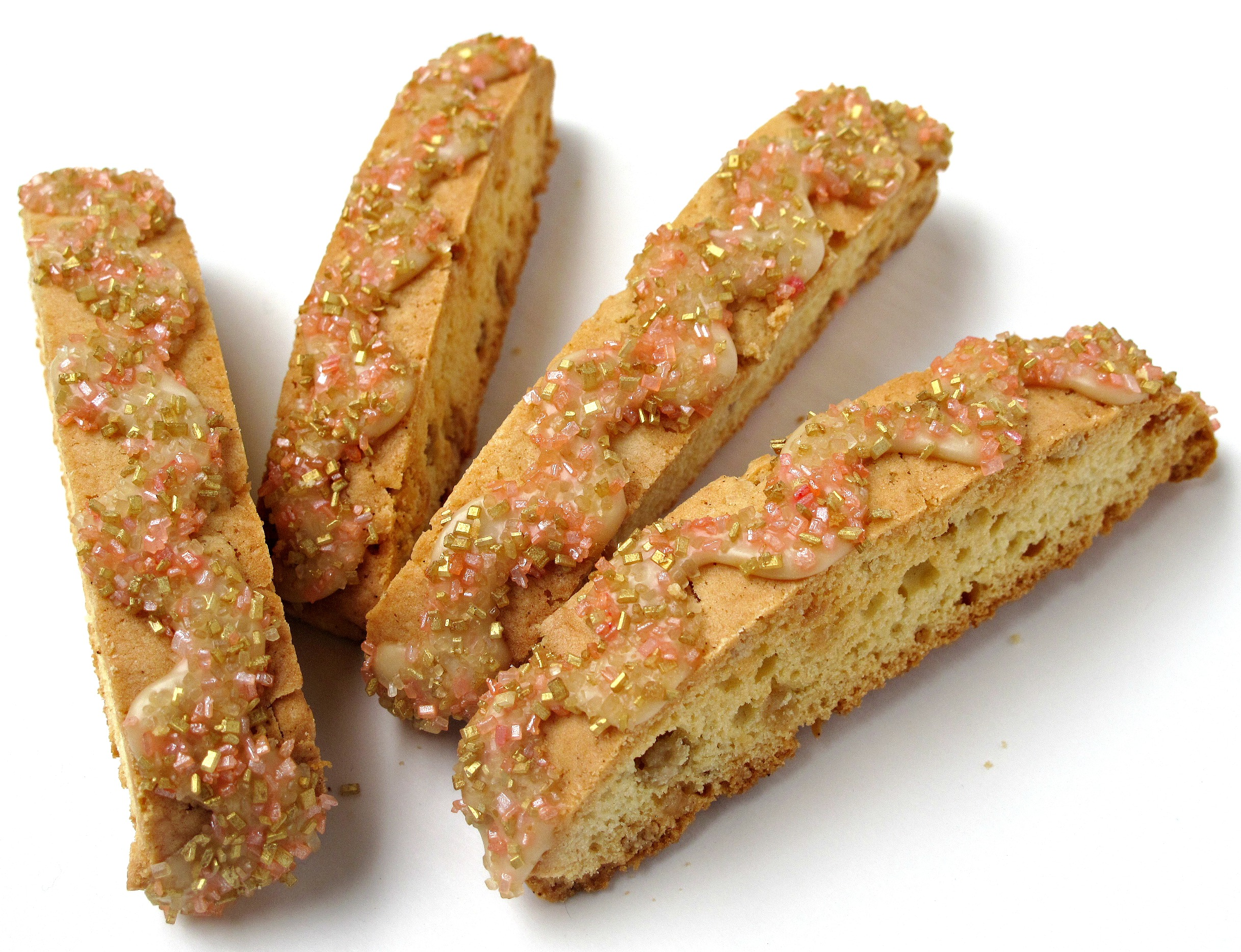 Maple Biscotti with Maple Syrup Icing- loaded with maple flavor, these ...