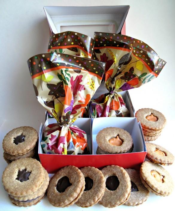 Honey Graham Sandwich Cookies