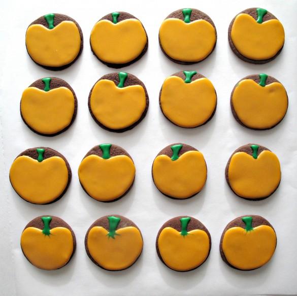 Halloween Circle Cookies