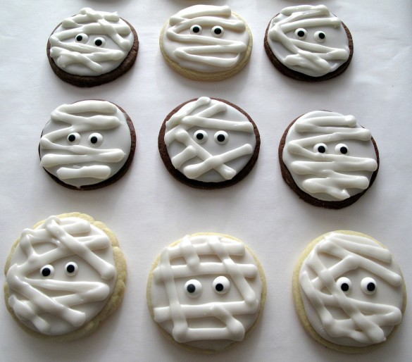 Halloween Circle Cookies
