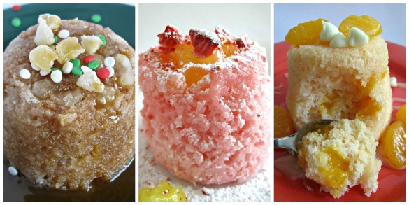 3-2-1 Gingerbread Cake  3-2-1 Strawberry Lemonade Cake 3-2-1 Mandarin Orange Cake