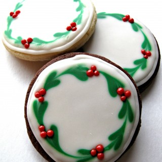 Iced Christmas Sugar Cookies for Military Care Package #7
