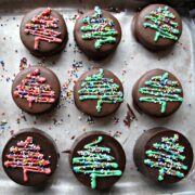Chocolate Covered Oreos and Iced Christmas Sugar Cookies for Military Care Package #7