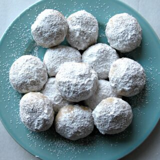 Cinnamon Snowball Cookies