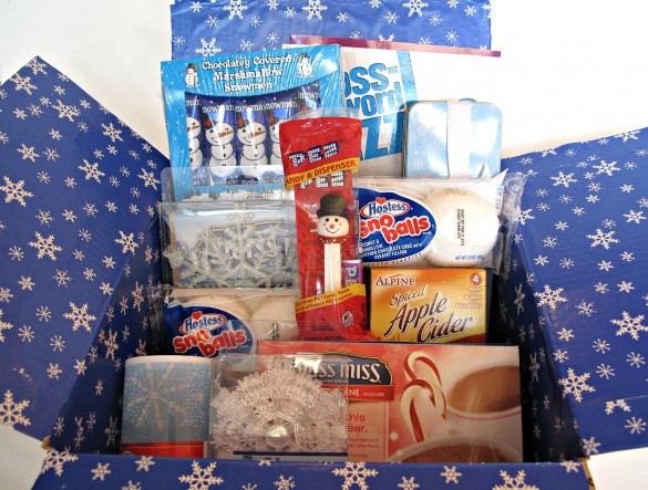Winter Theme Military Care Package