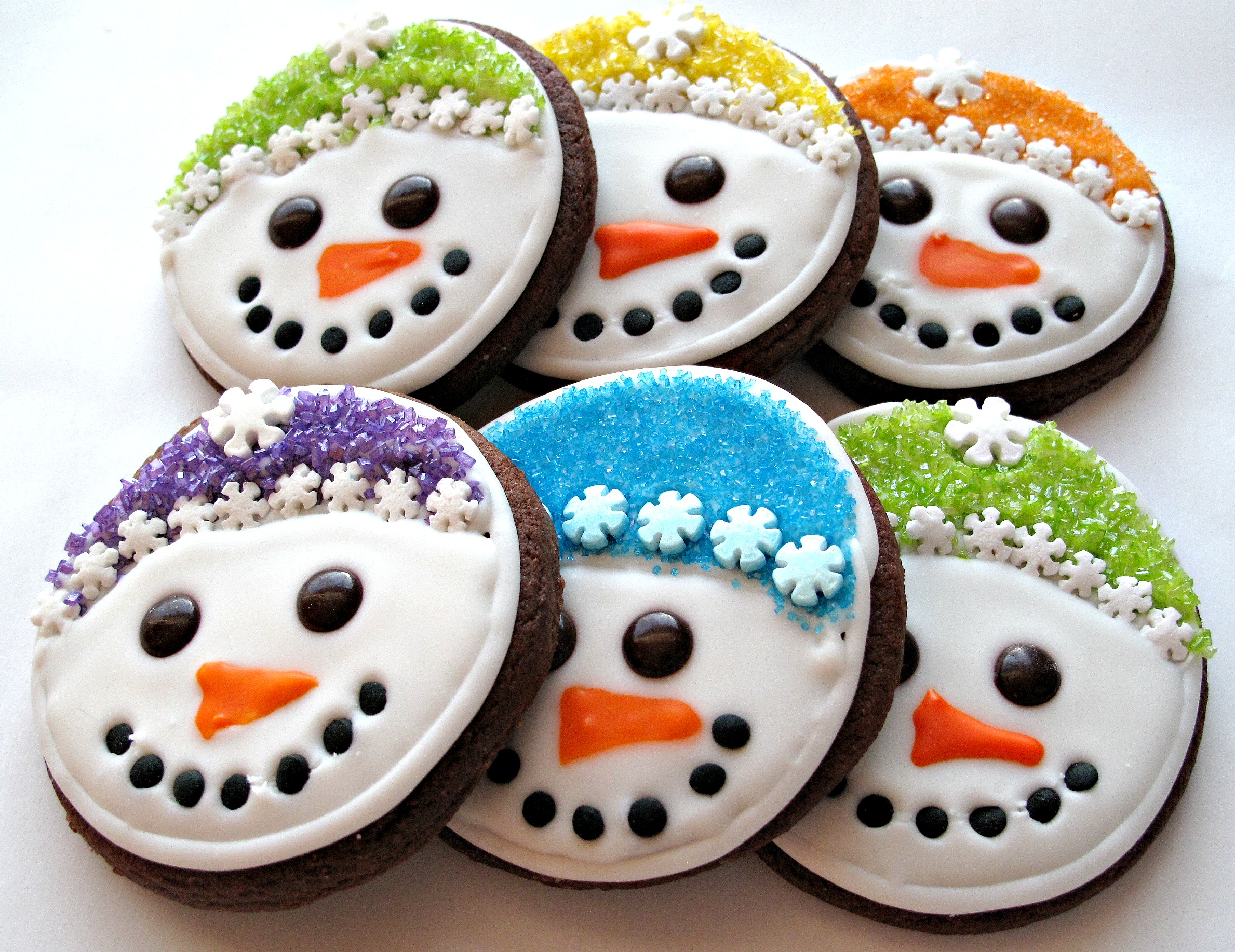 Iced Snowmen Sugar Cookies And Military Care Package 8 The Monday Box