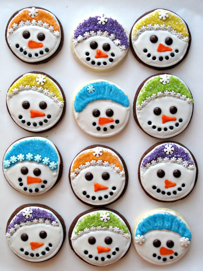 Iced Snowmen Sugar Cookies And Military Care Package 8
