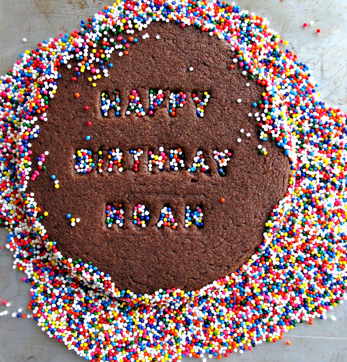 Celebration Sprinkle Cookies - The Monday Box