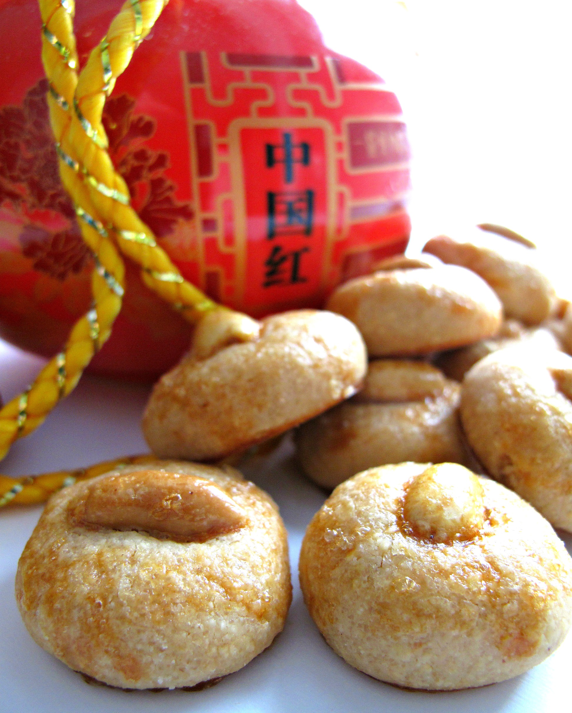 Chinese New Year Peanut Cookies (花生饼) |The Monday Box