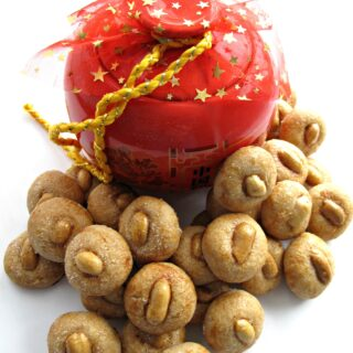 Chinese New Year Peanut Cookies (花生饼)