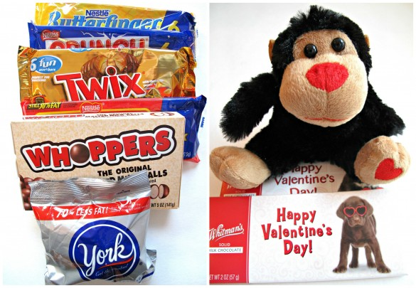Valentine Envelope Sugar Cookies and Military Care Package #9 candy contents