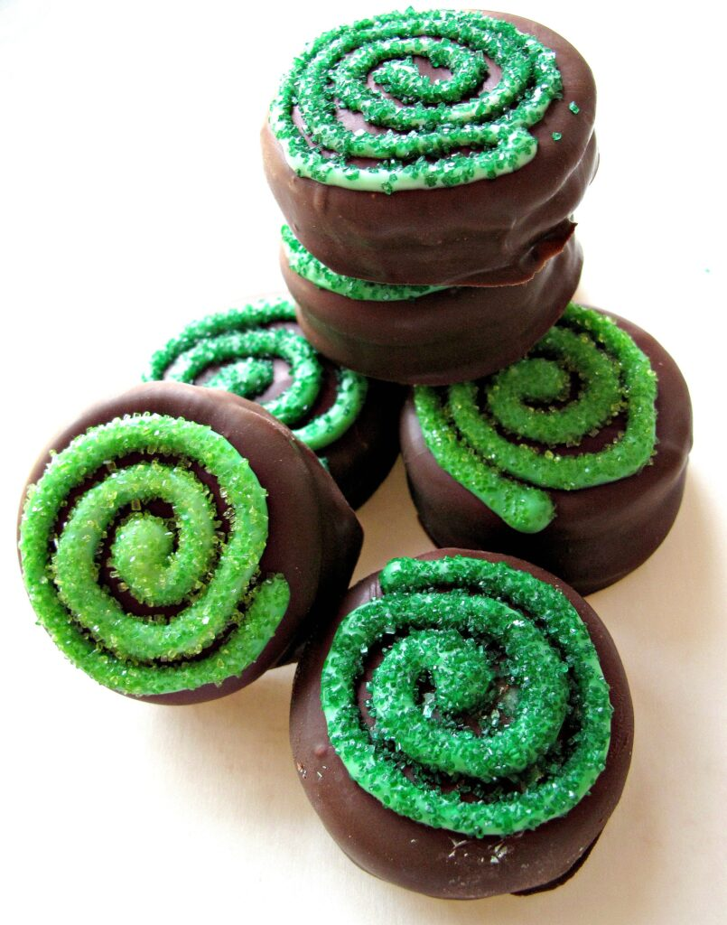 Chocolate Covered Oreos for St. Patrick's Day and Military Care Package #10