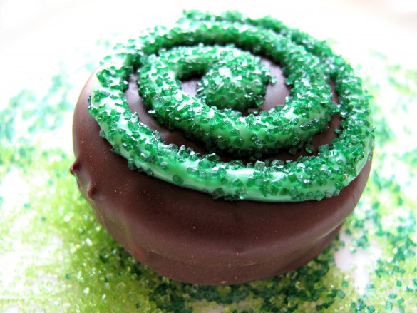 St. Patrick's Day Chocolate Covered Oreos and Military Care Package #10