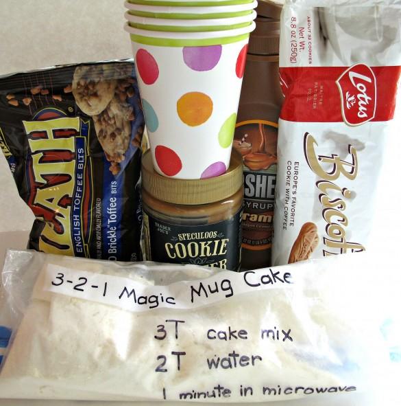 3-2-1 Biscoff Crumble Mug Cake