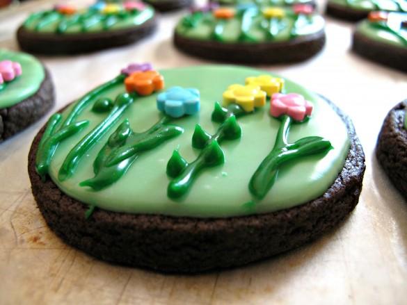 Spring Flowers & Sunshine Iced Sugar Cookies
